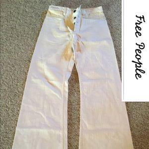NWT Free People size W25 wide-leg pants BOHO